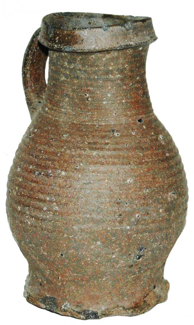 Circa 1400 Rheinland Stoneware 1-1/4L Stein