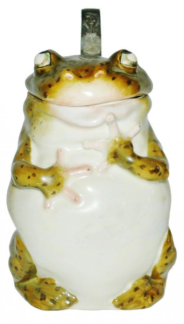 Schierholz Porcelain Frog Character Stein