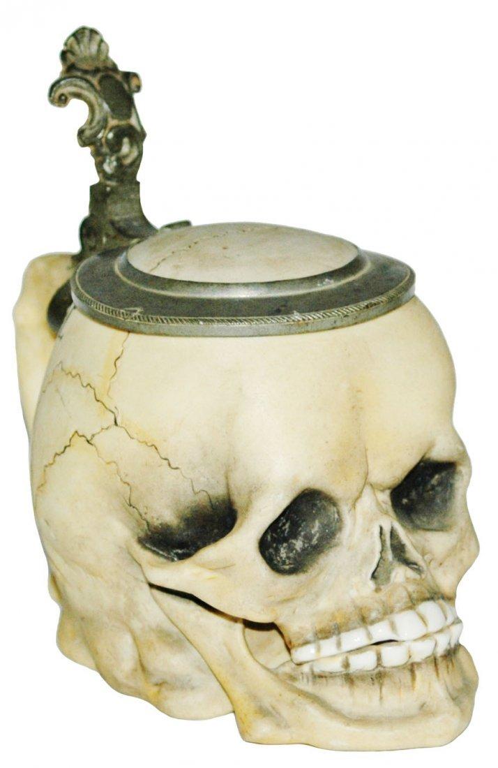 3/10L Skull Bohne Porcelain Stein