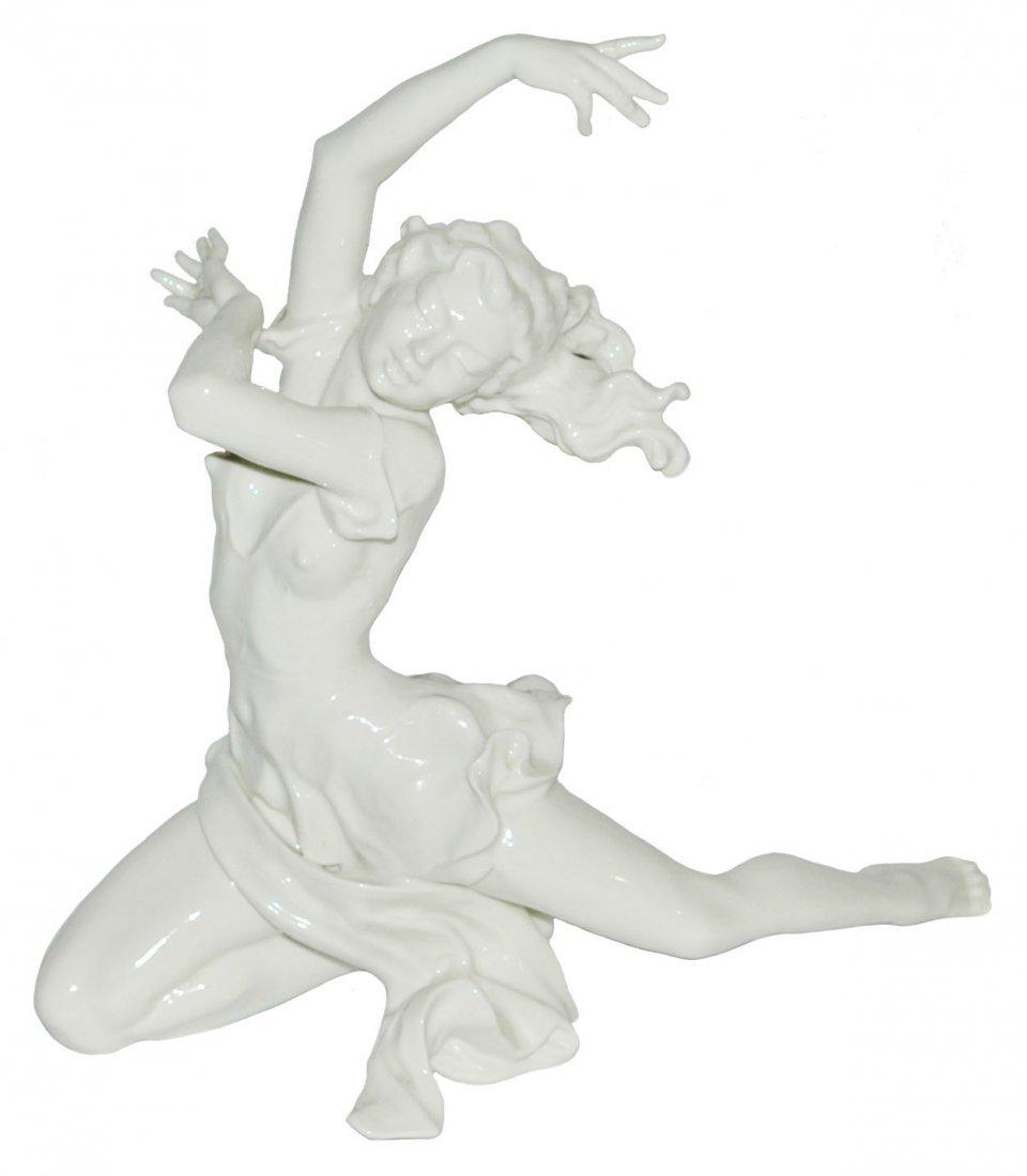 """Hutchenreuther Woman Dancer 11"""" figure"""