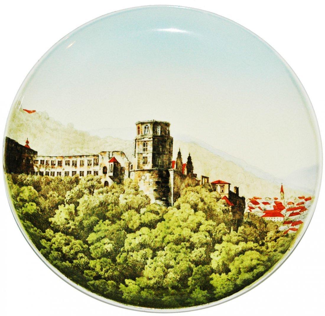 """Heidelberg Mettlach 12"""" Plaque"""