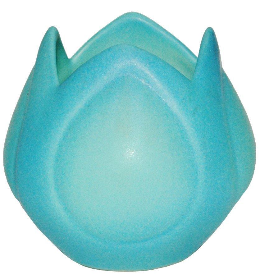 Van Briggle Blue Tulip Flower form Vase