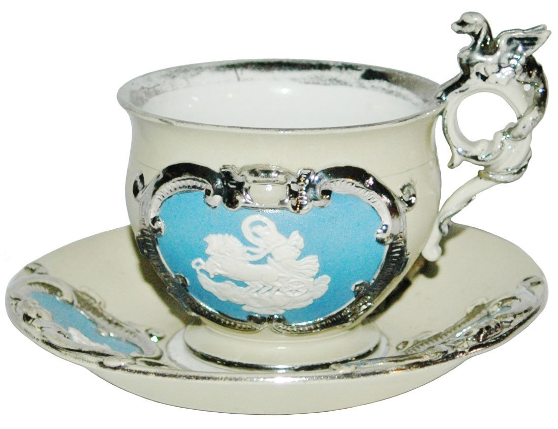 Mettlach Cup & Saucer