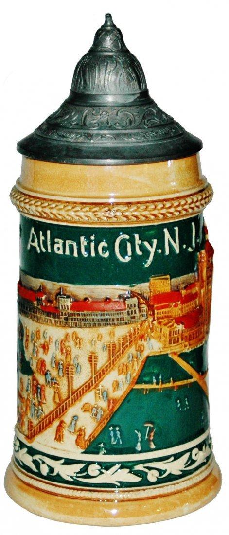 Atlantic City New Jersey Boardwalk Souvenir Stein