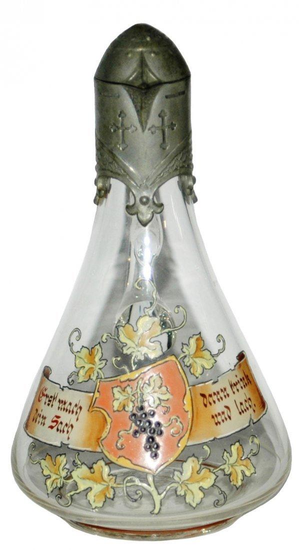 Van Hauten Grape, Shield & Fancy Pewter Stein