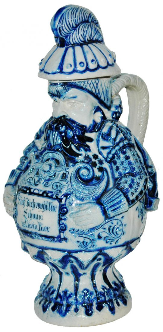 Knight Character Stein 1-1/2L Stoneware