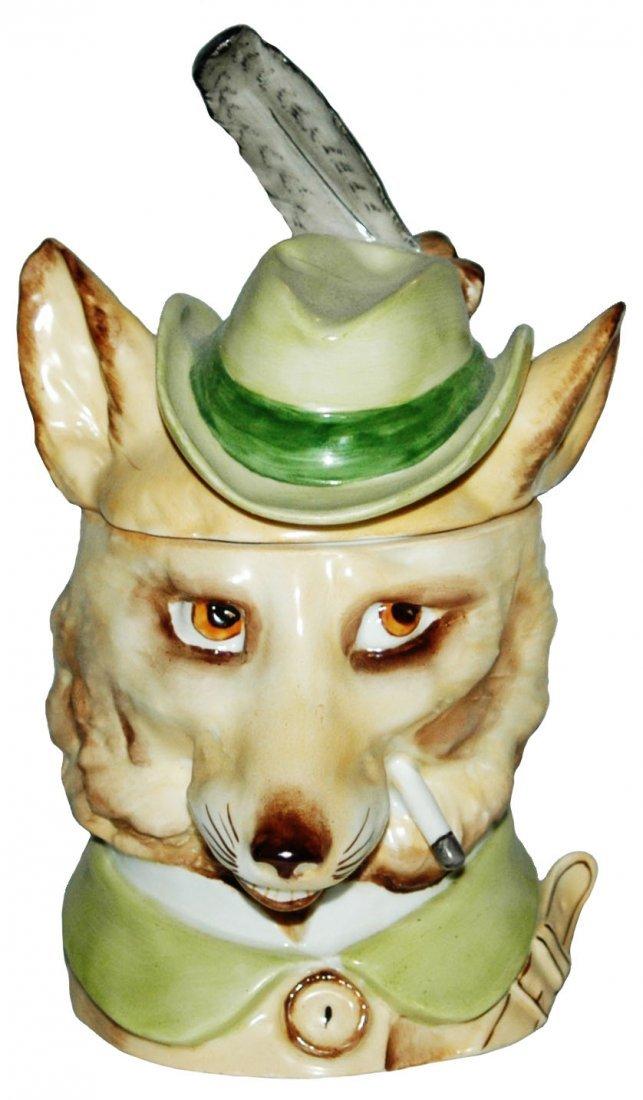 Schierholz Porcelain Fox Modern Character Stein