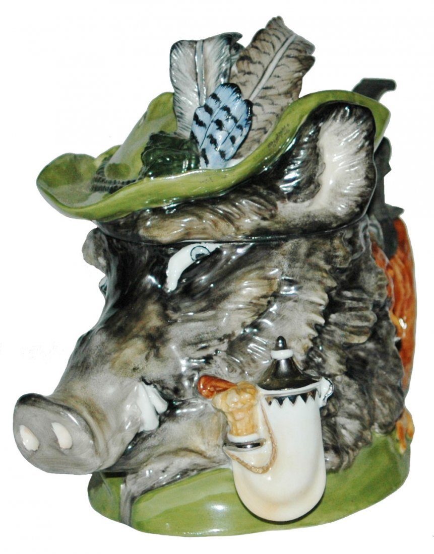 Boar Schierholz Porcelain Modern Character Stein