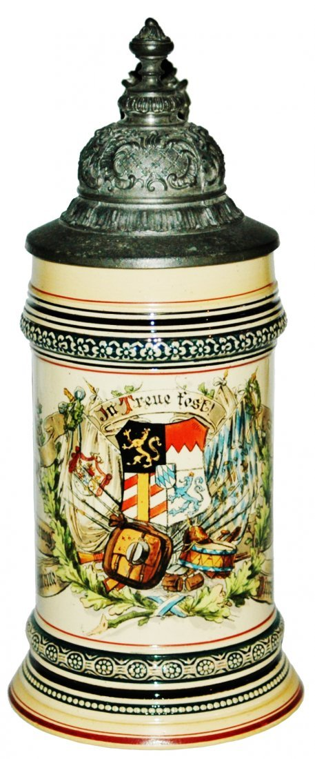 18th Inft Regimental Military Commemorative Stein