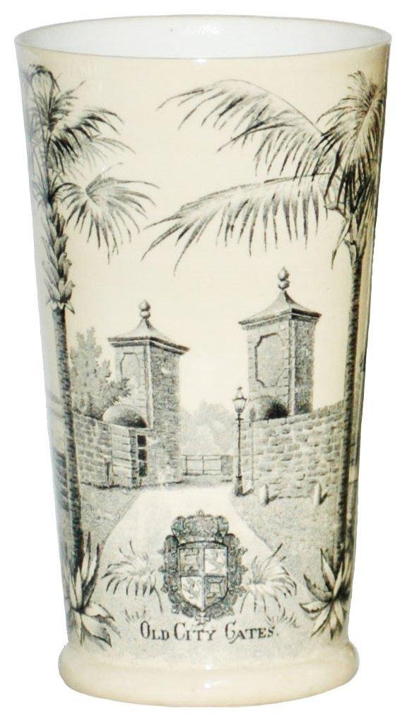 St Augustine Florida Mettlach Beaker
