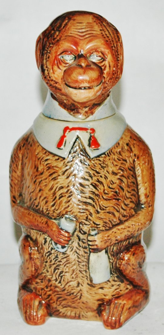 Character Stein 1/2L Pottery Monkey