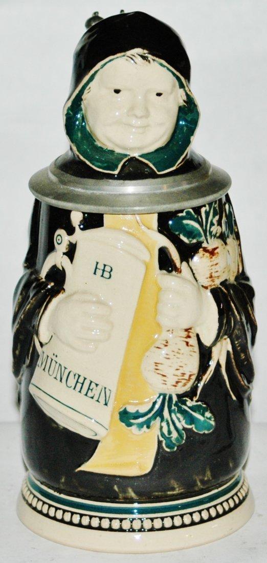 Character Stein 1/2L Reinemann Pottery