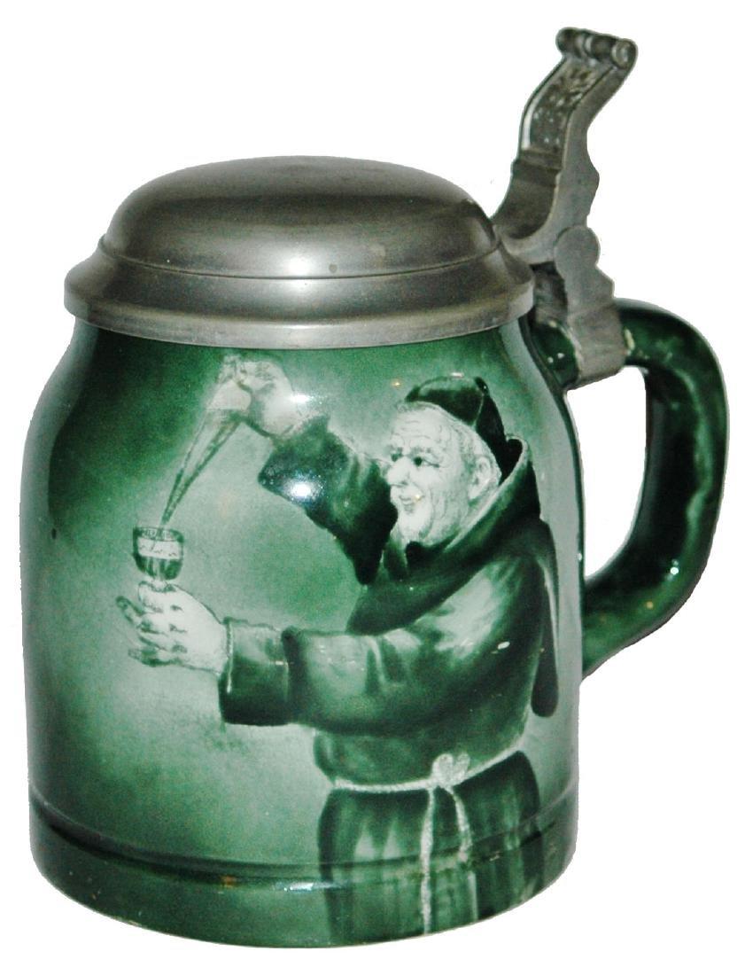 Monk w Goblet of Wine Manning Bowman Stein