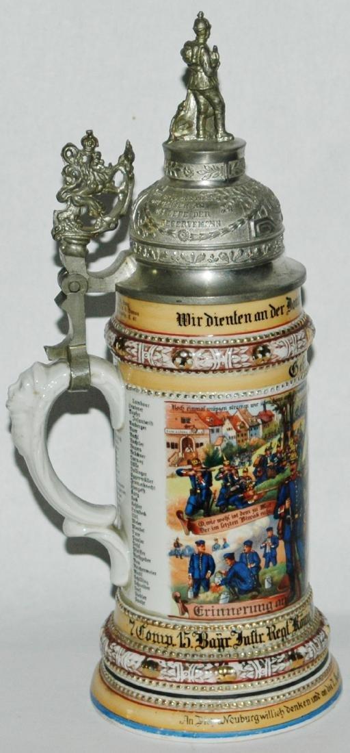 Regimental 7 comp 15 Bayr Inft Neuburg Stein - 2