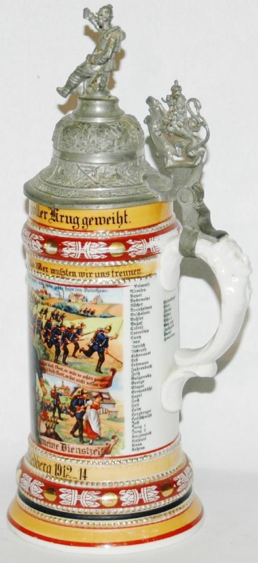 Regimental 10 Comp 5 Hess Inft Nr 168 Stein - 3