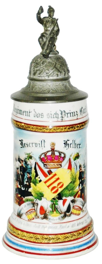 Regimental Hess Inft No 118 Worms Stein