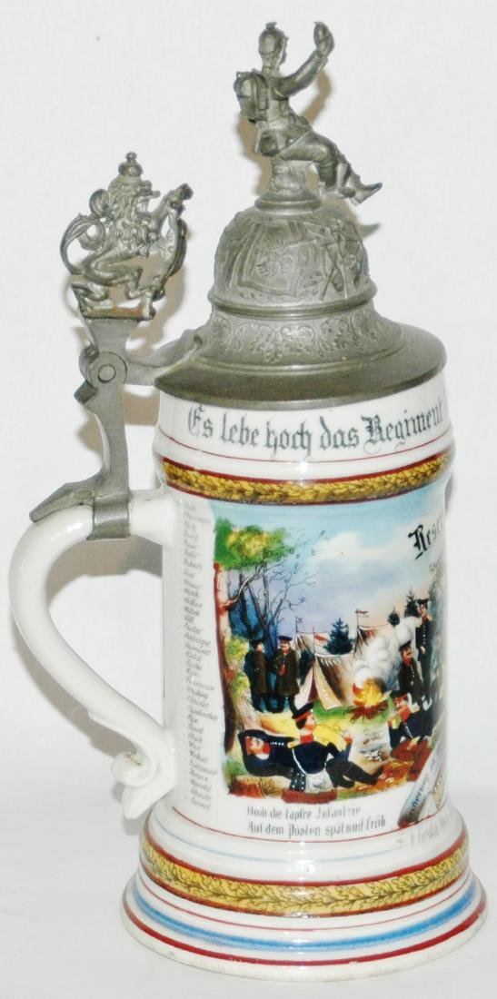 Regimental Hess Inft No 118 Worms Stein - 2