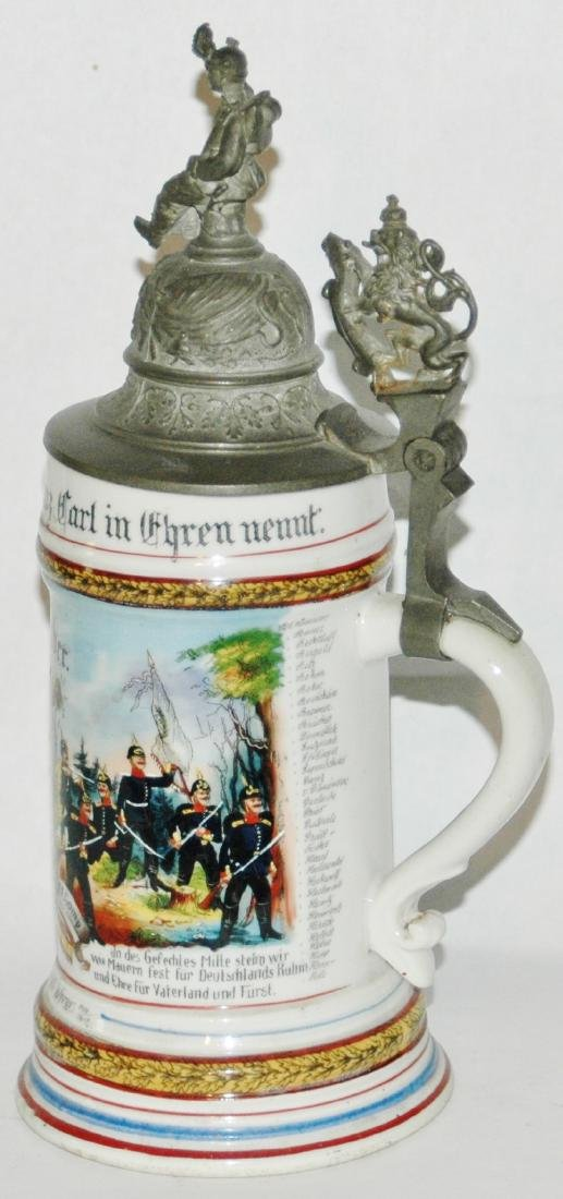 Regimental Hess Inft No 118 Worms Stein - 3