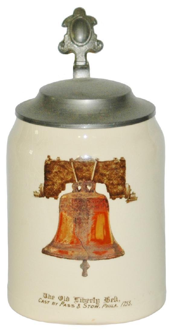 US Liberty Bell Phila 1753 Thuemler 4/10L Stein