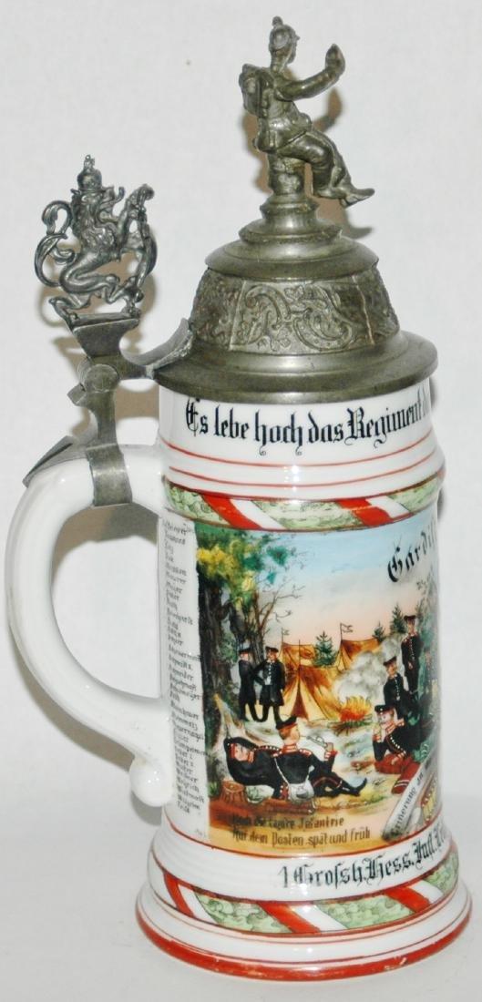 Regimental 1 Grossh Hess Inft Nr 115 Stein - 2
