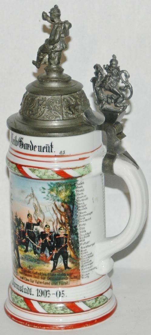 Regimental 1 Grossh Hess Inft Nr 115 Stein - 3