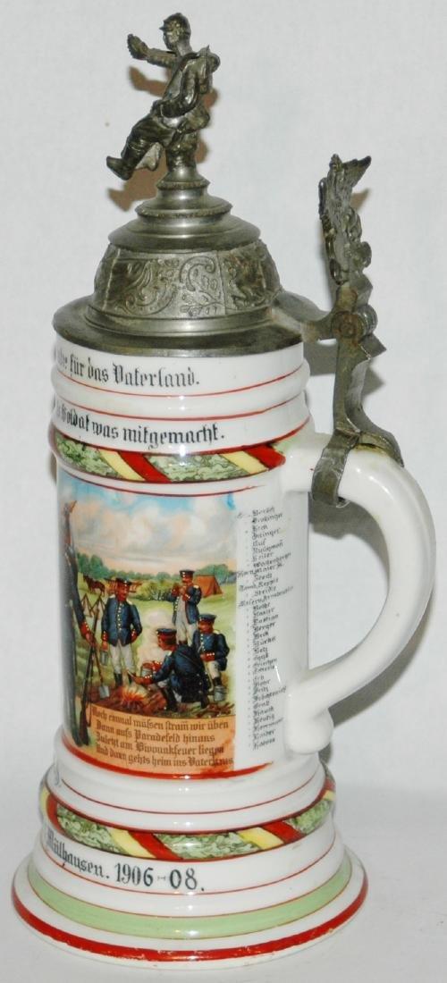 Regimental 4 Bad Inft Nr 112 Mulhausen Stein - 3