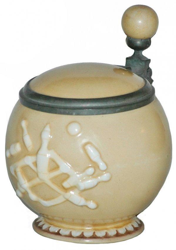 Schierholz Porcelain Bowling Ball Character Stein