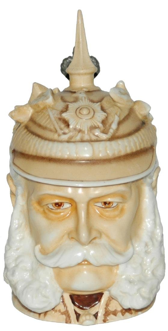 Schierholz Kaiser Wilhelm I Spiked Helmet Stein