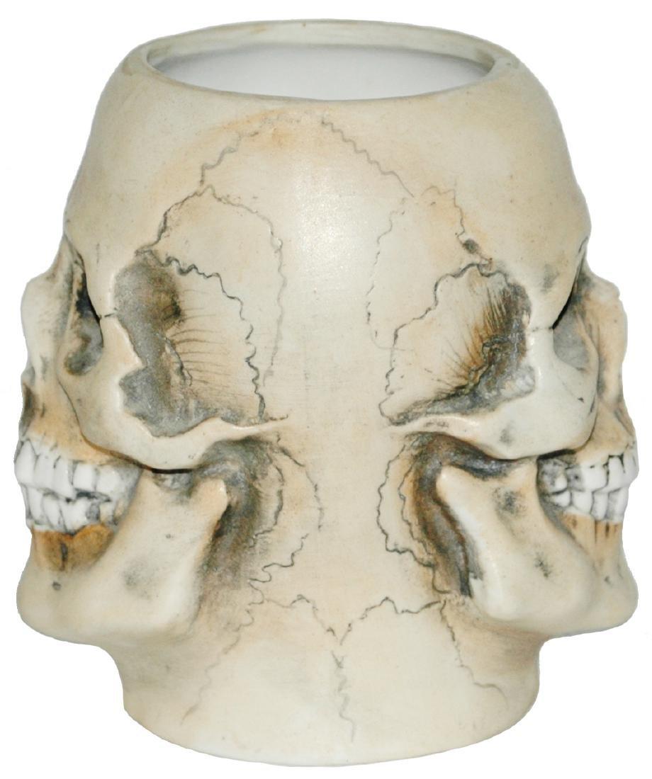 Double Sided Skull 3/10L Character Bohne Beaker