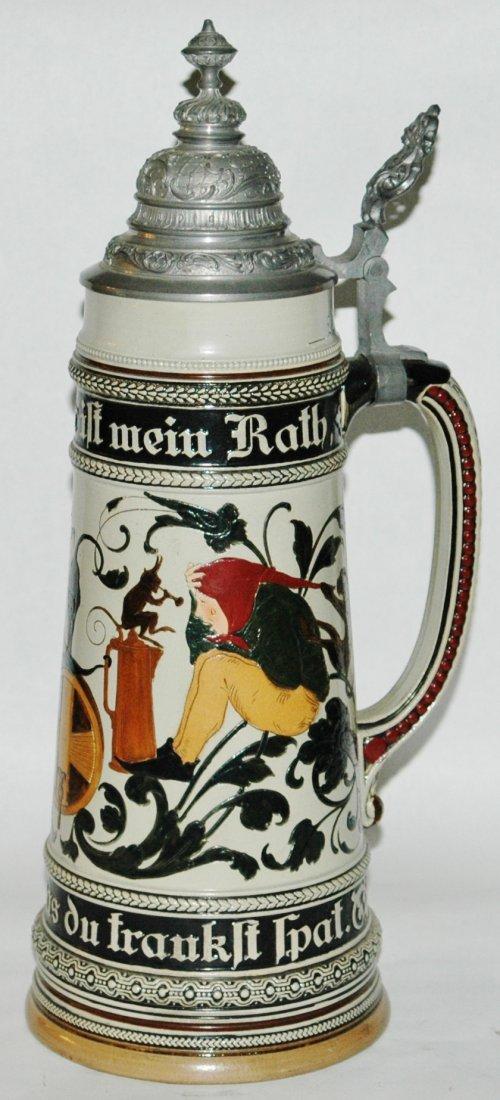 2L Etched Dwarfs Drinking Stein - 2