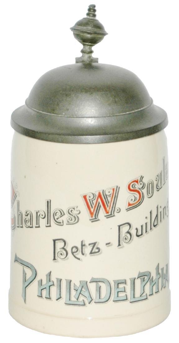 Charles Soula Betz Souvenir Advertising Stein