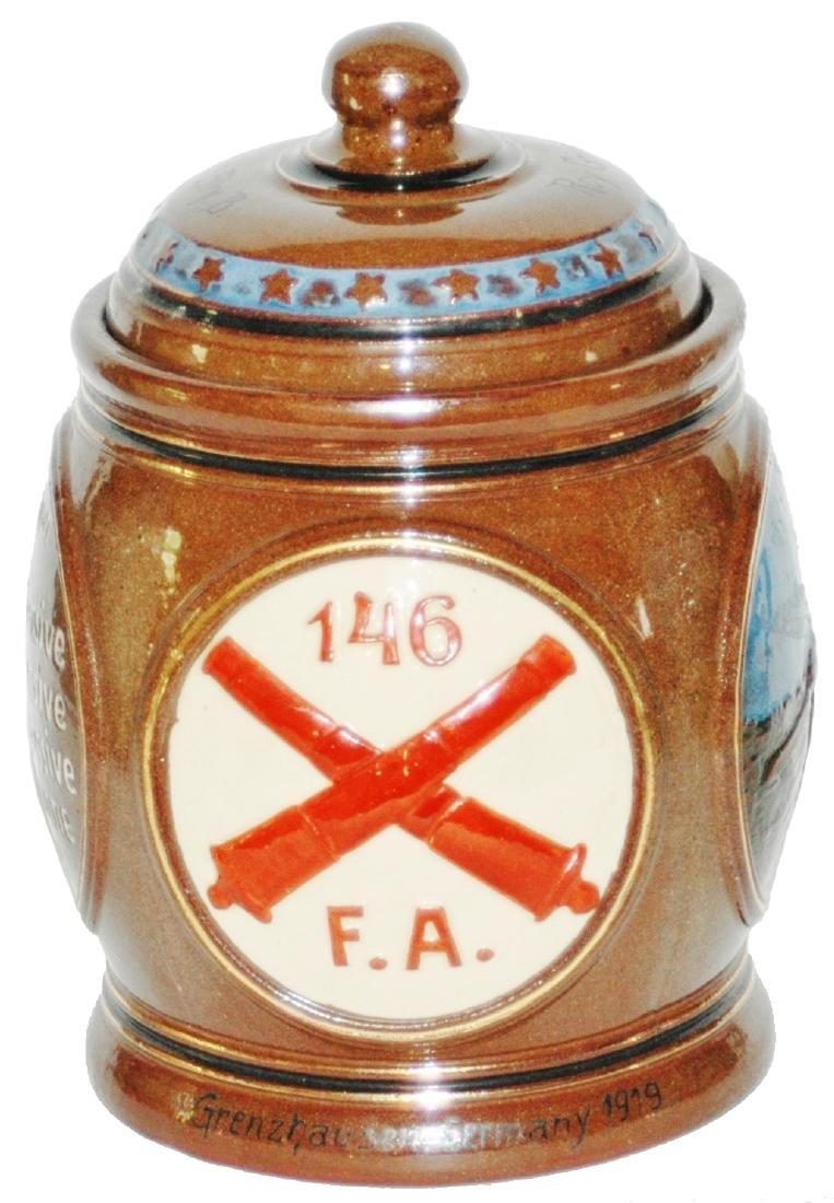 Dumler & Breiden Regimental Tobacco Jar