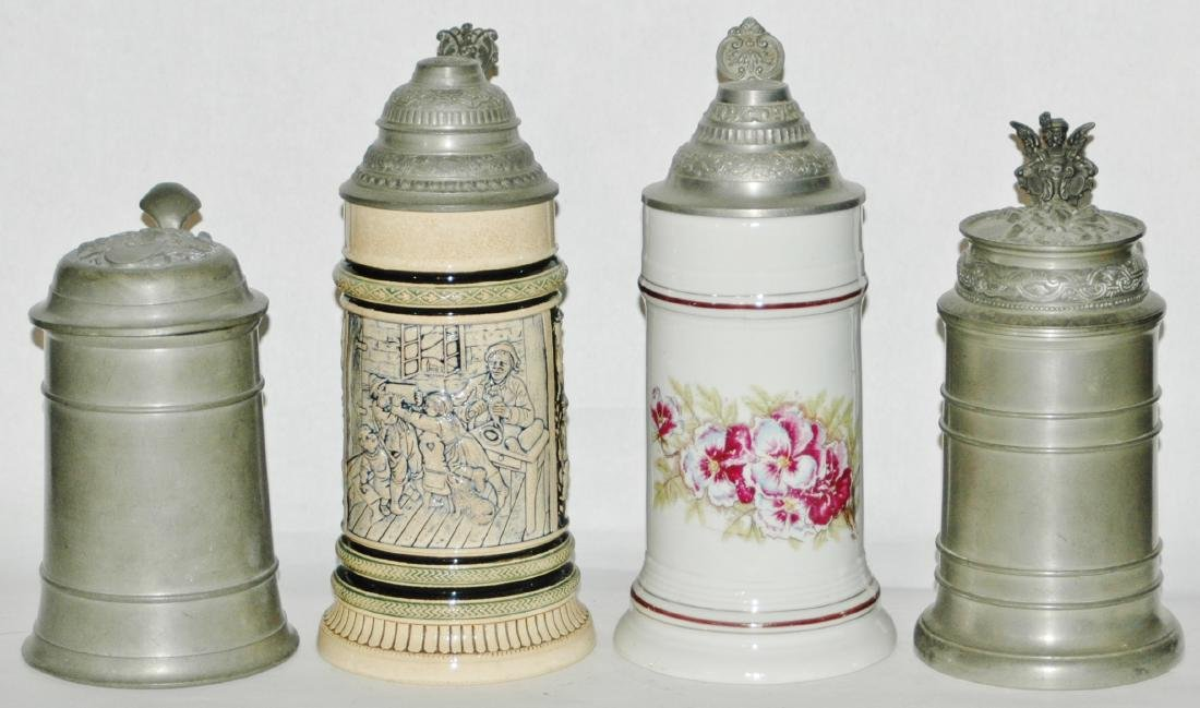 Lot of 4 Steins - All Mint