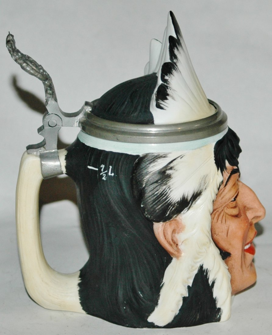 Bohne Indian Character Stein - 2