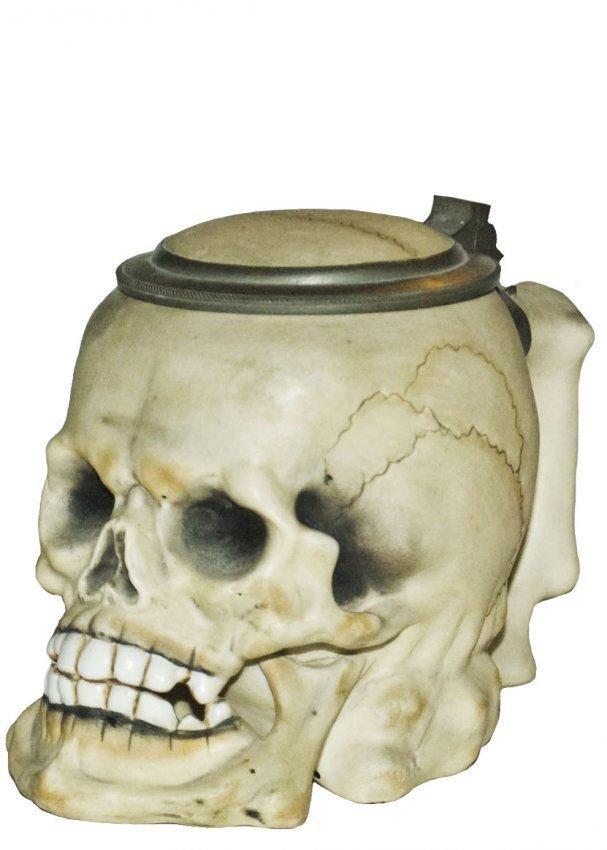 Skull Porcelain Character Stein