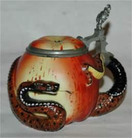Bohne Porcelain 4/10L Snake Apple Stein