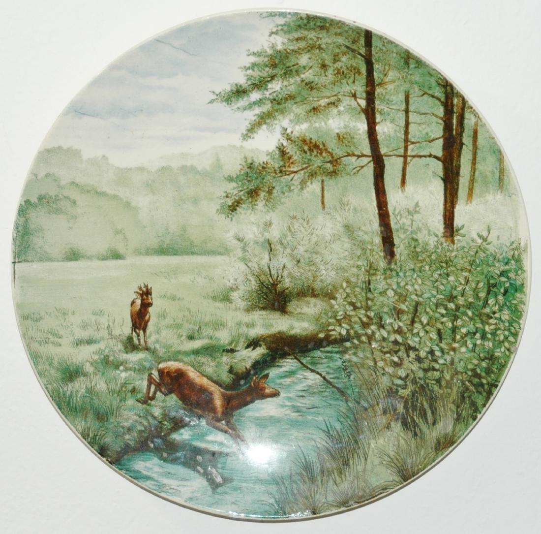 """Villeroy & Boch PUG 12"""" Deer Plaque"""