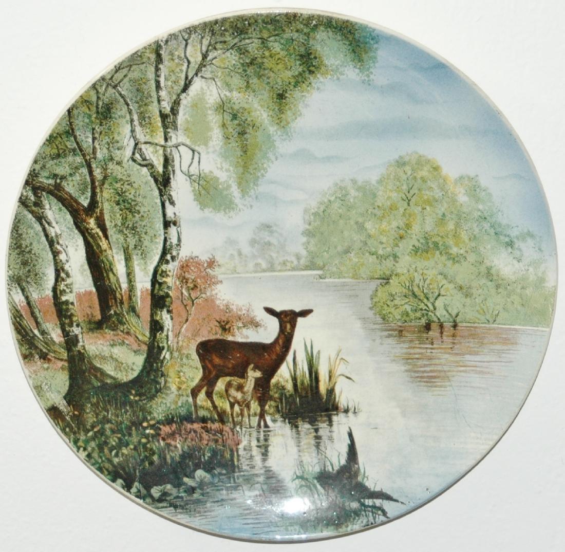 "Villeroy & Boch PUG 12"" Deer & Fawn Plaque"