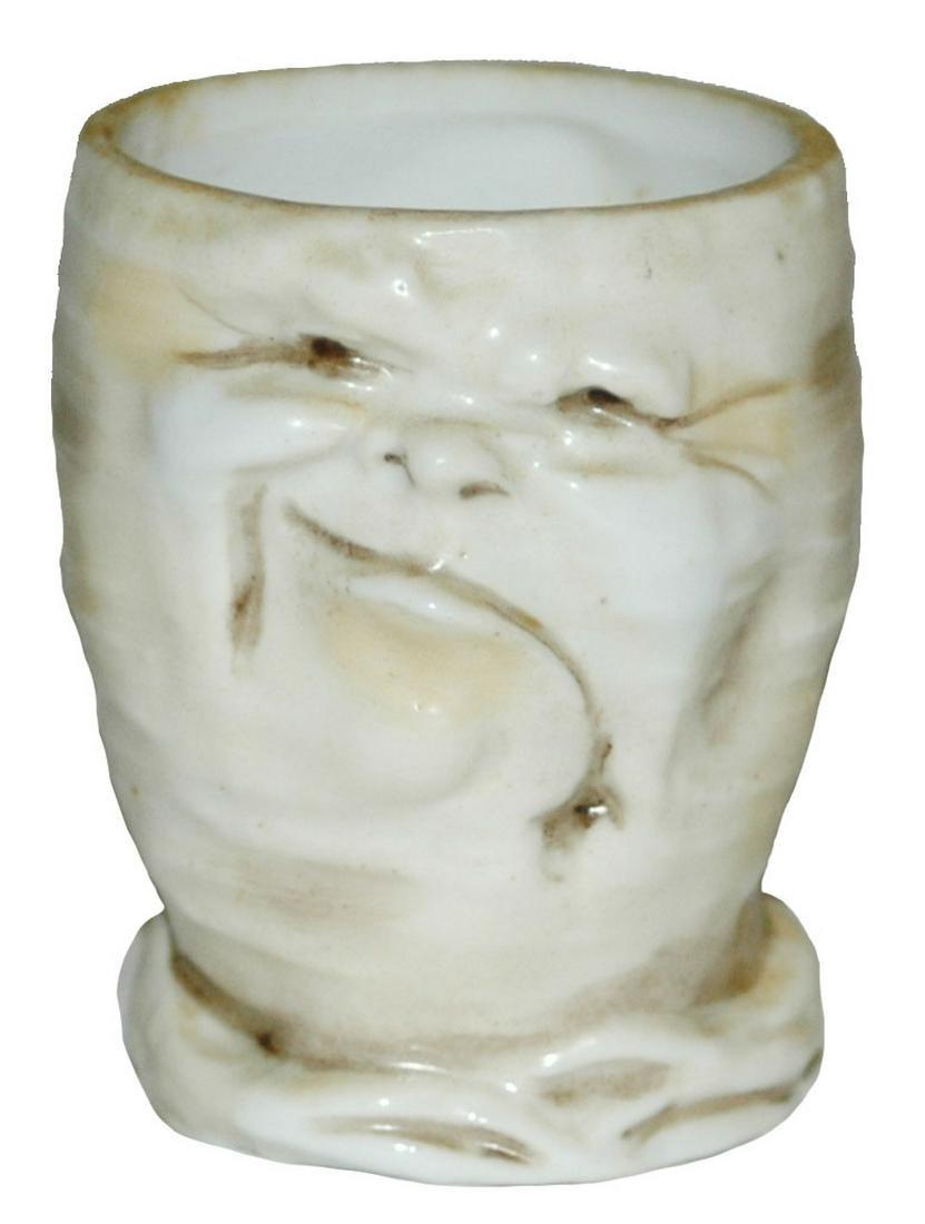 "Character Schierholz Porcelain Radish 2-1/2"" Mug"