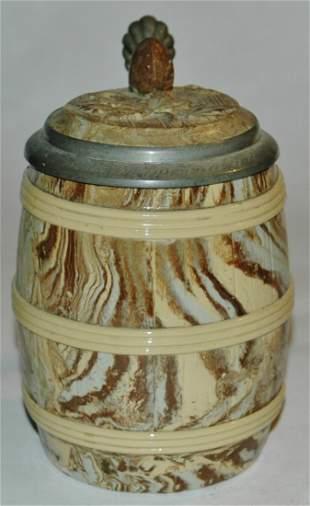 Mettlach 675 Barrel stein 12L