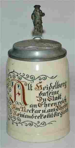 Pottery Merkelbach Wick Incised 12L stein