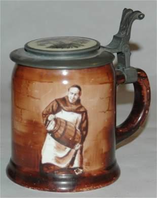Pottery OHara Dial POG monk stein 12L