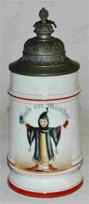 Porcelain Munich Child 12L stein