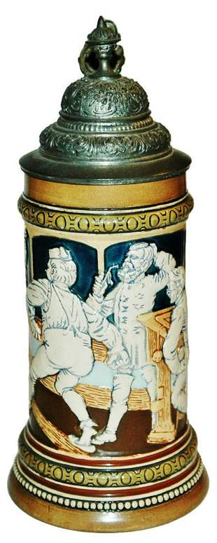 HR Relief Stein of Students Bowling