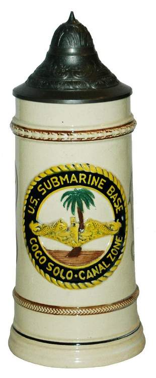 US Military Submarine Base Coco Solo Canal Stein
