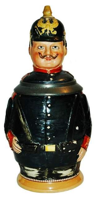 Diesinger German Soldier Character Stein