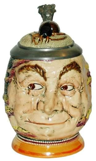 Diesinger Hangover Man Stein w Beetle Inlay