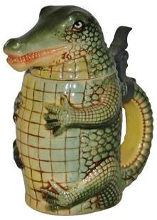 Alligator 1/8L Character Stein