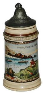 Avelon Catalina Island CA 1/8L Souvenir Stein