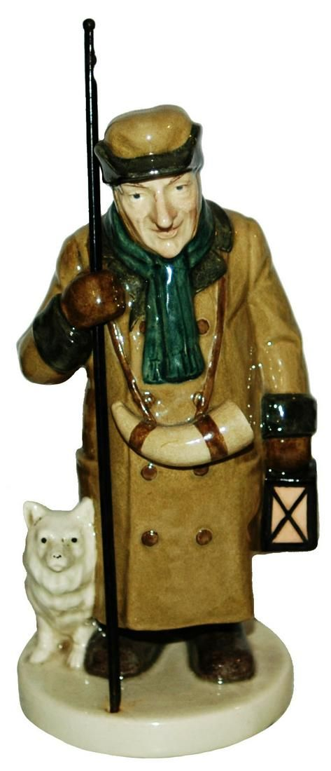 Rare Villeroy & Boch Dresden Night Watchman Figure